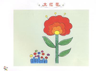 儿童手工制作荷花风筝图片