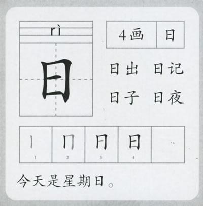 本识字卡有别于一般的识字卡片,它以新颖独特的笔画分类法教幼儿