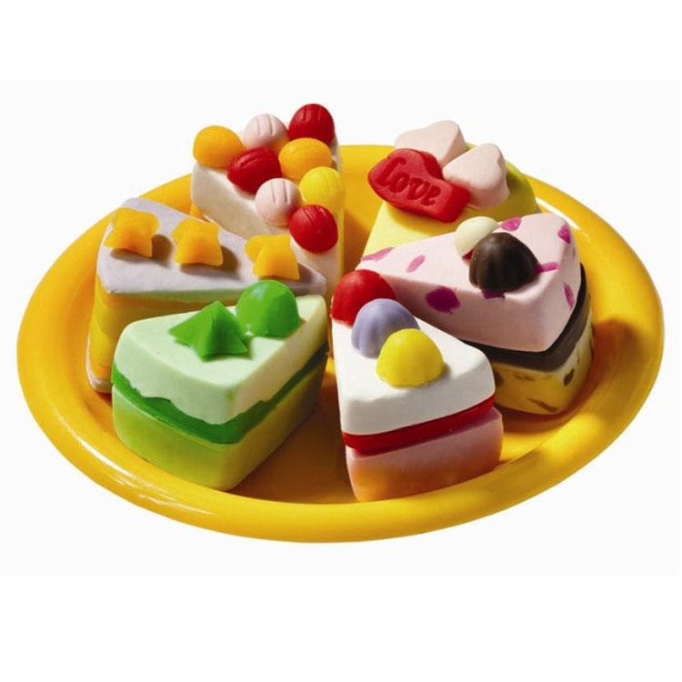 彩泥蛋糕制作步骤图