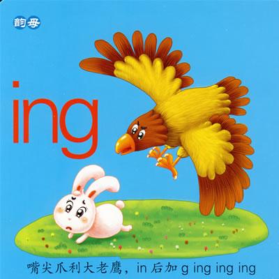 儿童早教启蒙学习卡--拼音卡