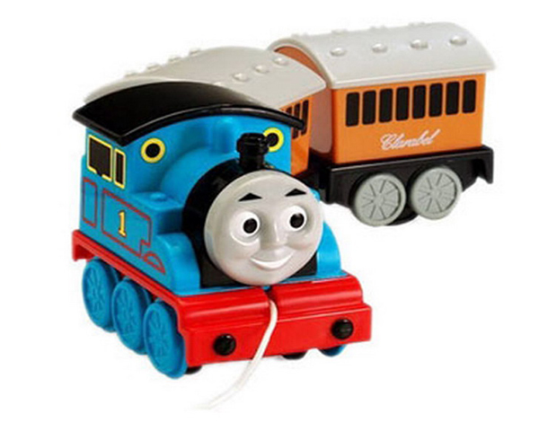 """""""火车头托马斯""""的电视动画剧一直是英国学龄前儿童节"""