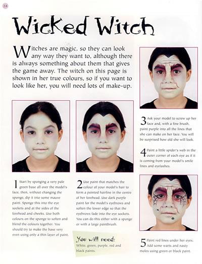 画脸的方法步骤图片