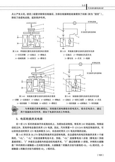 典型汽车电动机控制电路