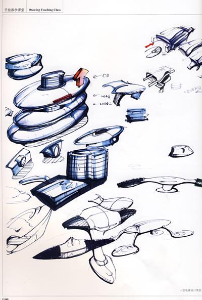 手绘表现课堂·刘涛工业产品表现技法