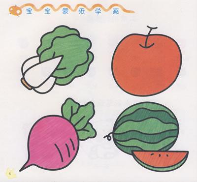《宝宝蒙纸学画:植物》河马文化 著_简介_书评_在线