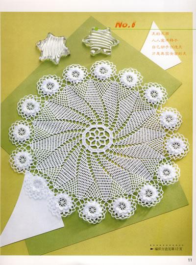 钩针编织花样,包括精选的花样
