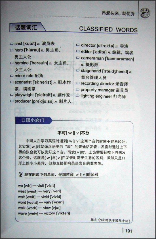 英语口语话题王 (附MP3光盘1张)(最强的英语口