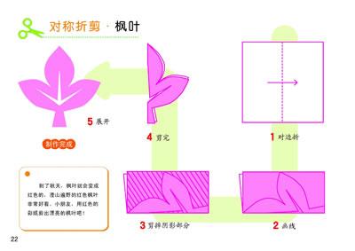 对称剪纸教程图解 简单对称剪纸教程图解 雪花对称剪纸教程图解