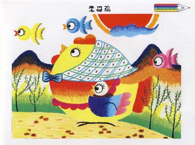 儿童画画大全飞鹤