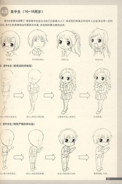 造型动漫哪个更萌少女a造型色系漫画图片