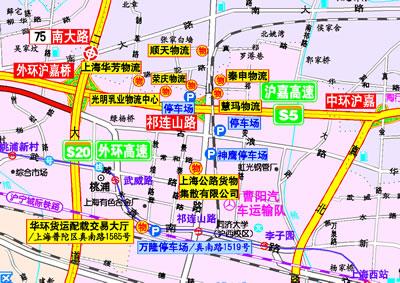 高速公路及城乡公路网地图集(物流版)(全方位交通地图,城市完全导航