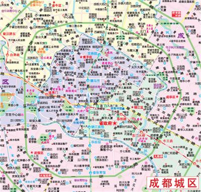 四川重庆交通旅游图(最新图片