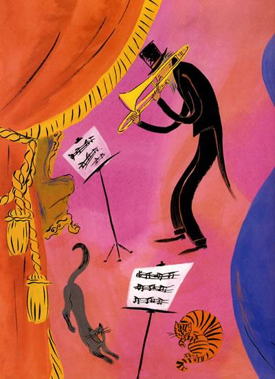 大家来听音乐会--启发精选美国凯迪克大奖绘本