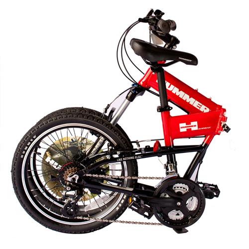 悍马自行车可折叠,悍马自行车