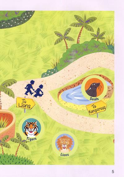 国家地理儿童百科提高级动物园地图 点读版/20820682