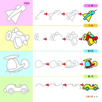 多功能亲自系列b7宝宝学画大本:蓝钻本》以清晰的图解式步骤和多变的