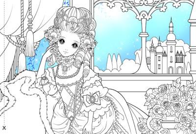 华丽公主(200个超可爱公主造型配合8个跨幅拉页设计